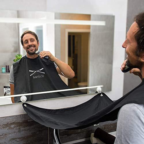 | Bartschürze | Das Barttuch von BARTLOS – für ein sauberes...