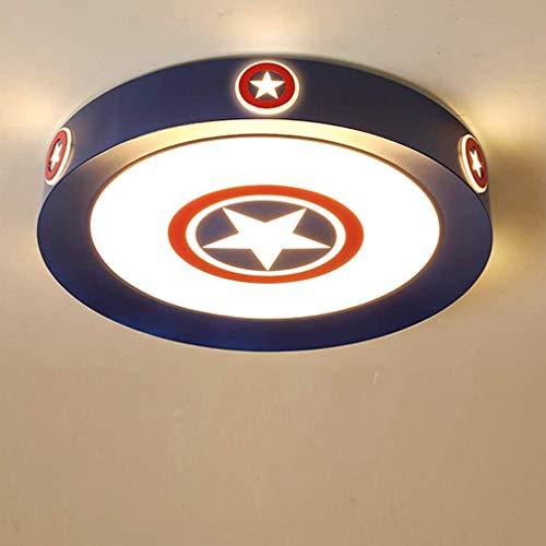 LED Deckenleuchte Warmweiß-Kaltweiß Licht Captain America...