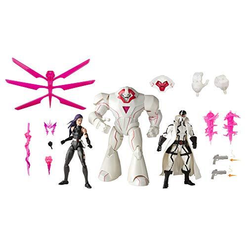 Hasbro Marvel Legends Series X-Men 15 cm große Action-Figuren Psylocke, Marvel's Nimrod und...