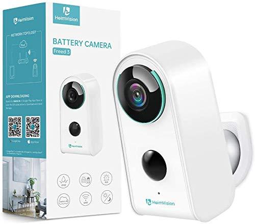 HeimVision HMD3 Überwachungskamera, 1080P Akku Kabellose WLAN Kamera, 2,4GHz WiFi,...
