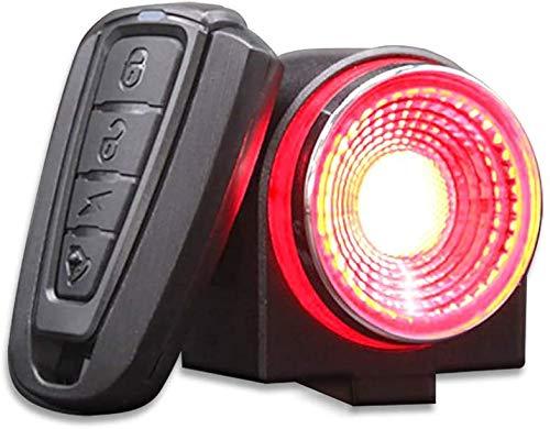 Rücklicht für Fahrrad, Rücklicht, sehr hell, 115 dB, Alarm,...