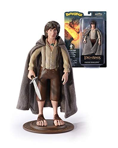 The Noble Collection Lord of The Rings Frodo Figur, Braun