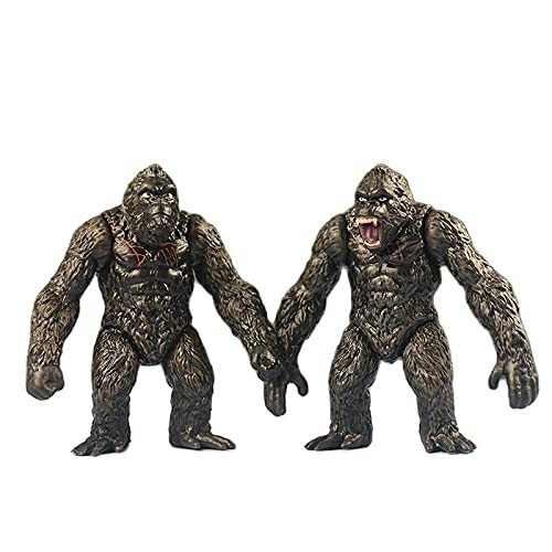 2 Stücke King Kong Skull Island Anime Figuren Bewegliche...
