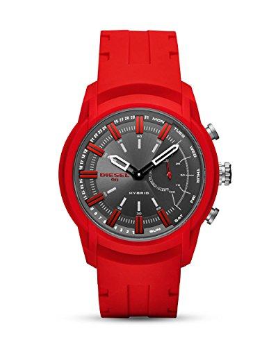 Diesel Herren-Smartwatch mit Silikon Armband DZT1016