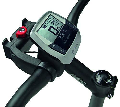 Klickfix Lenkeradapter E mit Schloss für E-Bikes mit Display,...