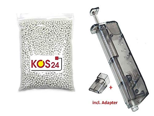 KOSxBO® 4000 Softair BBS 0.25g Premium BB Kugeln 6mm Airsoft...