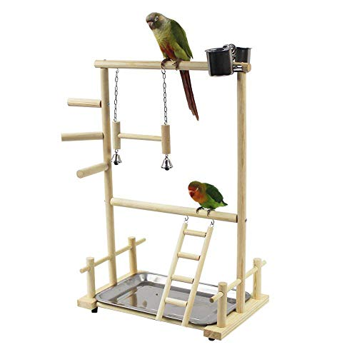 Papagei Spielplatz Vogelspielplatz Nymphensittich Spielplatz Holz...