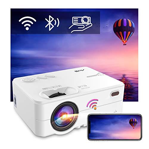 Mini Beamer WLAN Bluetooth - Artlii Enjoy2 WiFi Beamer Wireless...