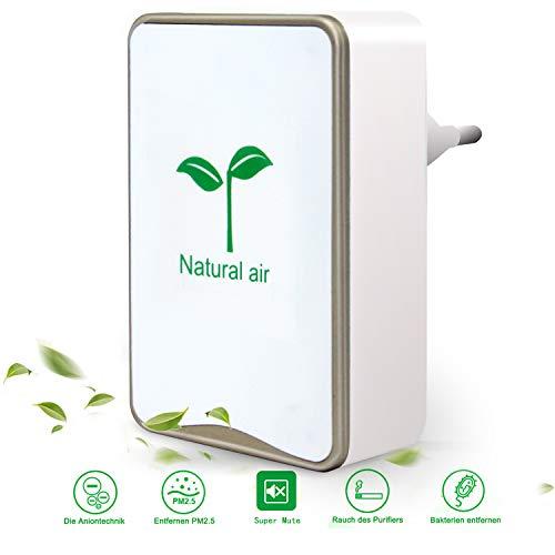 Luftreiniger,Tailiqi Plug-in-Luftreiniger,Air Purifier für...