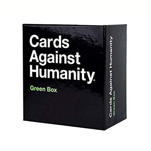 Spielkarten für Erwachsene Karten gegen die Menschheit grüne...