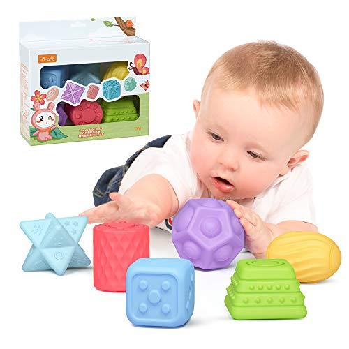 TUMAMA Baby Spielzeug ab 0 6 Monate , Weiche Baby Bälle...