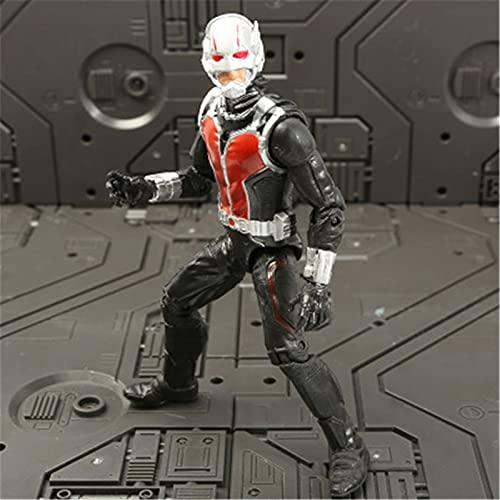 Htipdfg Actionfiguren Film Anime Black Panther Spiderman Captain...