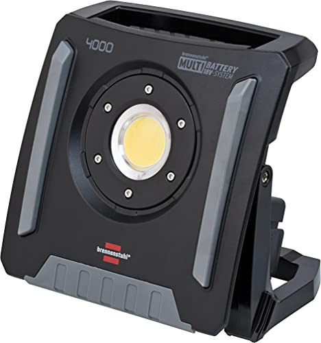 Brennenstuhl Multi Battery LED Akku Baustrahler 4000 MA (40W,...
