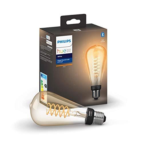 Philips Hue White E27 LED-Lampe Filament Giant Edison,...