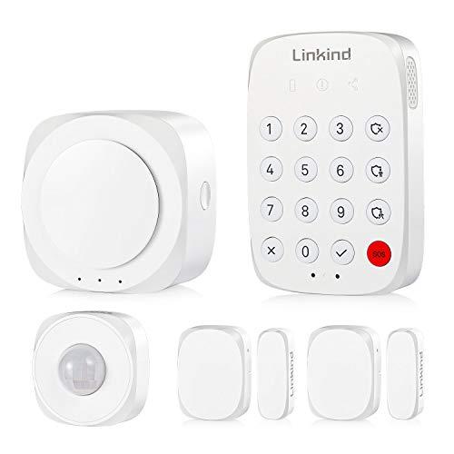 Linkind Smart Alarmanlagen Set, Zigbee Handy App-steuerbar,...