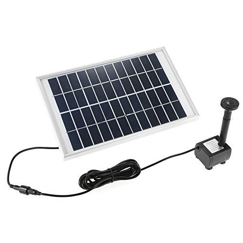 WATPET Haustierheizung Pad Solarwasserpumpe Power Panel Kit...
