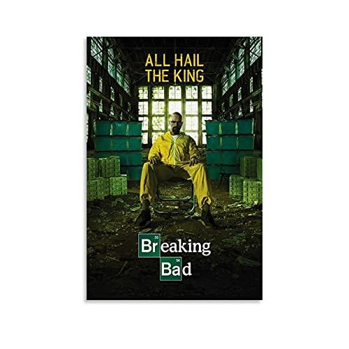 SDGVF Filmposter Breaking Bad auf Leinwand, Kunstdruck, modernes...