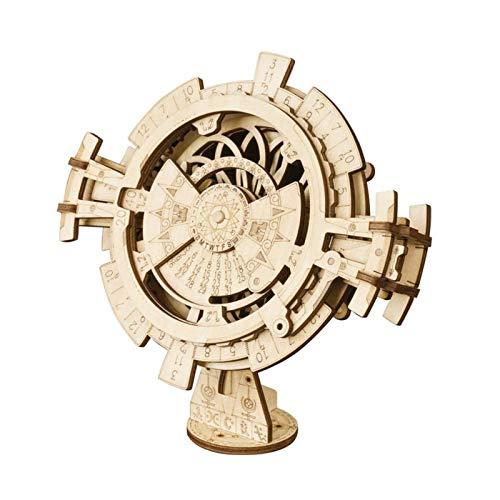 Robotime 3D Puzzle Holz Modellbau Kalender Holzbausatz...