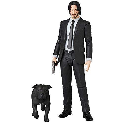 NBVNBV John Wick,Actionfigur Anime Charakter Model Statuen PVC -...
