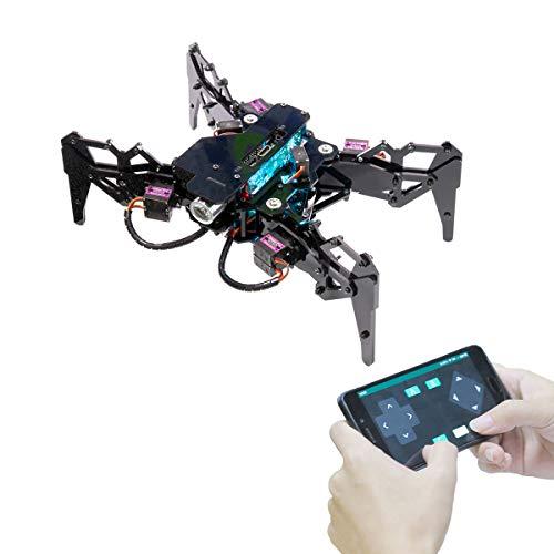 Adeept Spider Robot Quadruped Robot Kit für Raspberry Pi 4/3...