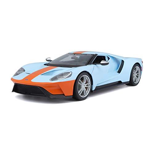 Maisto Ford GT `17: Modellauto mit Federung, Maßstab 1:18, Türen und Motorhaube beweglich,...