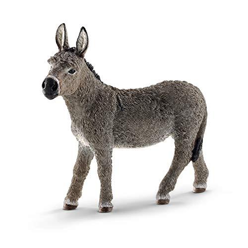 Schleich 13772 FARM WORLD Spielfigur - Esel, Spielzeug ab 3 Jahren