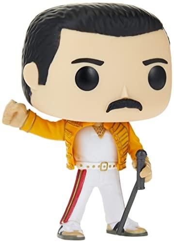 Funko 33732 Pop! Vinyl: Rocks: Queen: Freddie Mercury (Wembley...