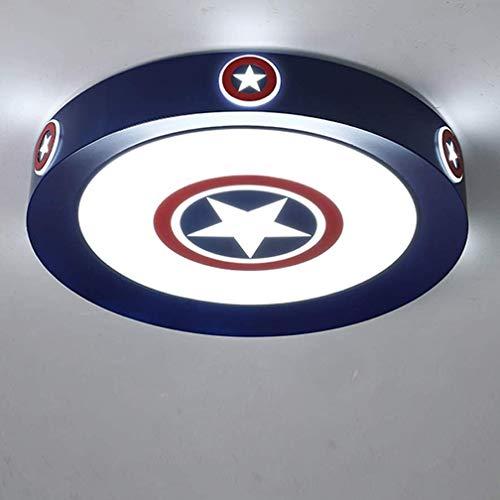 LED Deckenleuchte Kaltweiß Licht Captain America Schild...