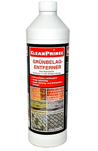 CleanPrince 1 Liter Grünbelagentferner Konzentrat  ...