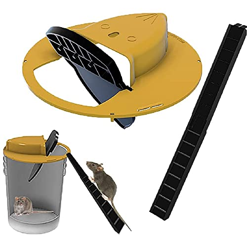 Flip N Slide Bucket Lid Mouse Trap Upgrade Mausefallen Humane...