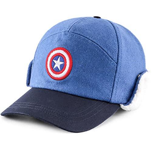 PRETAY Marvel Spider Man Hat Boys, Winter Beanie Captain America...