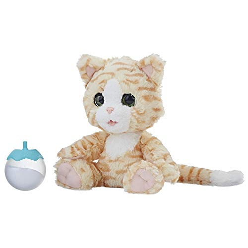 Hasbro FurReal E0418EU4 - Cara, mein kuscheliges Kätzchen interaktives Plüschtier