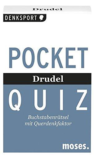 moses. Verlag GmbH Pocket Quiz - Drudel: Buchstabenrätsel mit...