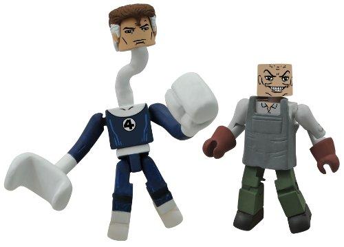 Diamond Select Toys Marvel Minimates Series 48: Mr. Fantastic and...