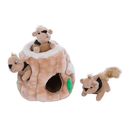 Outward Hound Hide-A-Squirrel Puzzle - Plüsch-Hundespielzeug mit...