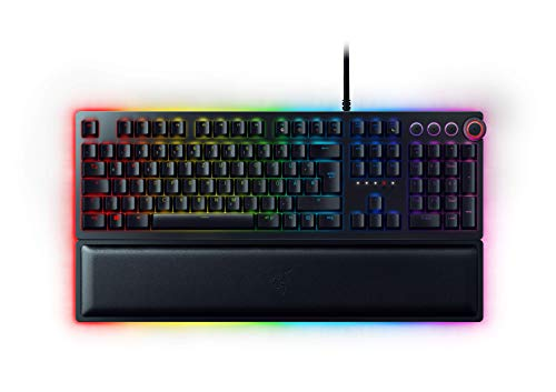 Razer Huntsman Elite (Purple Switch) - Gaming Tastatur mit opto-mechanischen...