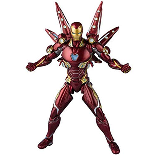 YALIXING Marvel Avenger 4 Endgame Iron Man MK85 Action Figure...