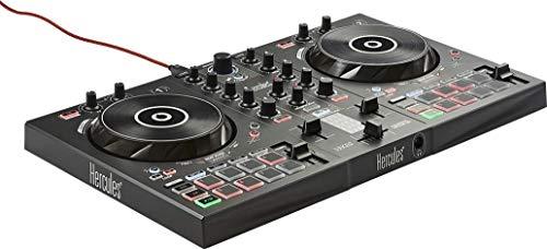 Hercules DJControl Inpulse 300 (2-Deck DJ Controller, Beatmatch Guide, IMA, 16 Pads,...