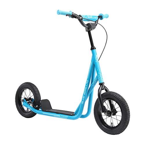 BLUE GORILLAZ Roller Kinderroller Tretroller Kickscooter für...