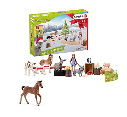 SCHLEICH Farm World 2019 Adventskalender, Mehrfarbig (Farm World...