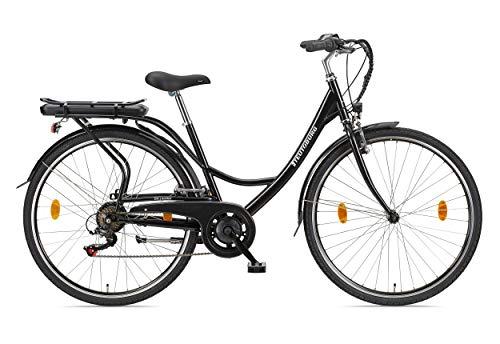 Teutoburg Senne Pedelec Citybike leicht Elektrofahrrad, 28 Zoll, mit 7-Gang Shimano...