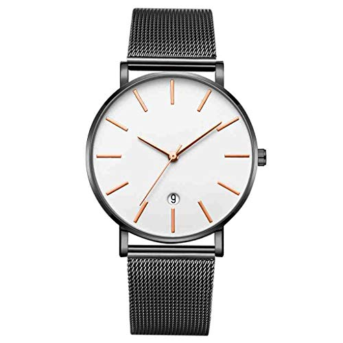 OLUYNG Armbanduhr Herren Armbanduhr Einfache Casual Kalender...