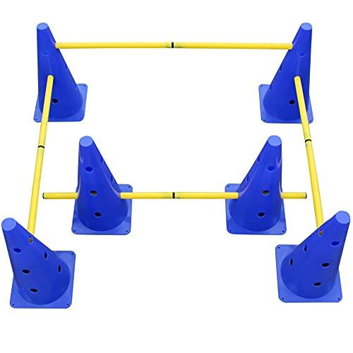 3 Set Steckhürdenset für Koordinationstraining,Hürden Set...