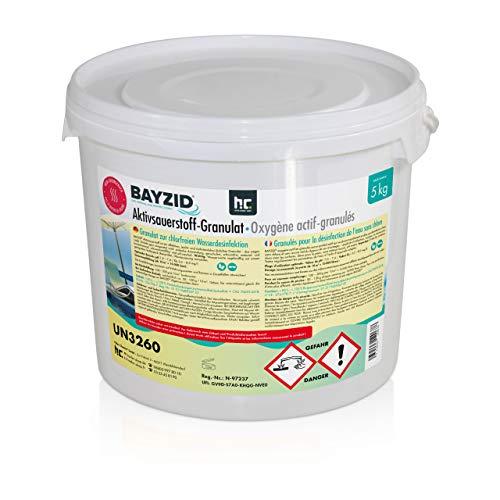 Höfer Chemie 5 kg BAYZID® Aktivsauerstoff Granulat für Pools -...