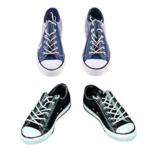 Fenteer 2 Paare 1/6 Weibliche Schnürschuhe Schuhe Zubehör...