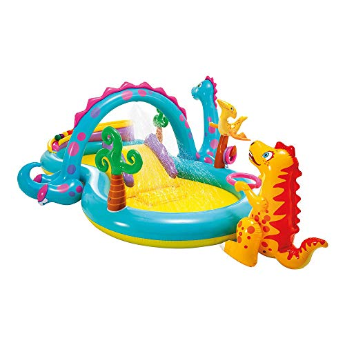 Intex Dinoland Play Center - Kinder Aufstellpool - Planschbecken...