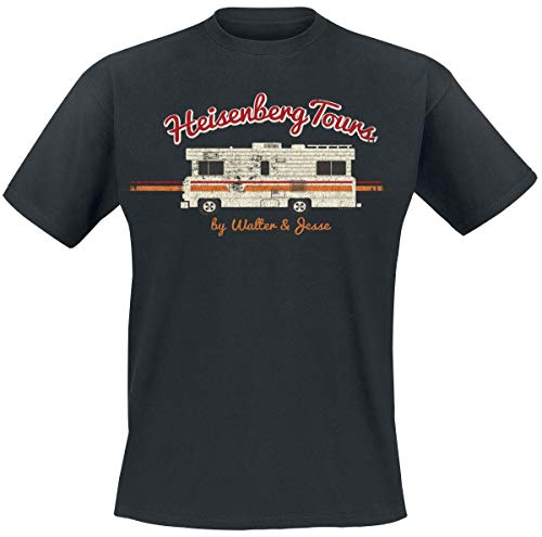 Breaking Bad Heisenberg Tours Männer T-Shirt schwarz XXL 100%...
