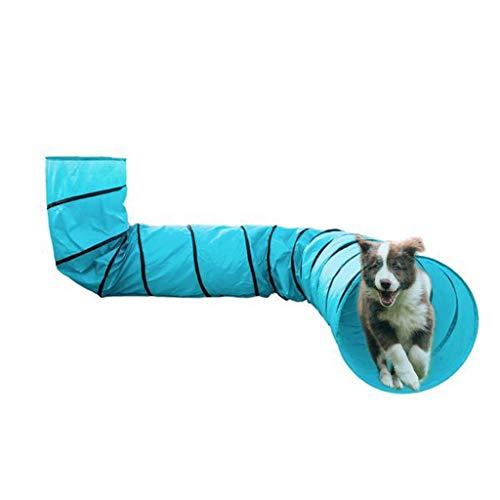 DRHU 18FT Pet Agility Übungstunnel Hundetunnel Spiel Outdoor...