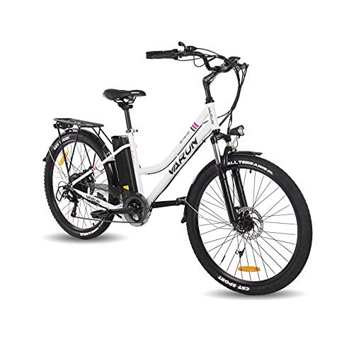 VARUN E-Bike Damen und Herren 26 Zoll mit 250W Motor 36V...