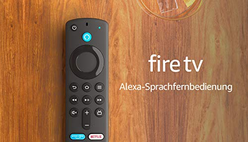 Alexa-Sprachfernbedienung (3. Gen.) für Fire TV, mit...
